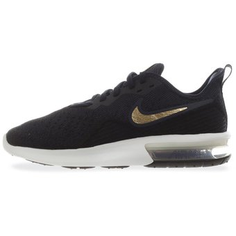 great fit cd769 45bd7 Tenis Nike Air Max Sequent 4 - AO4486003 - Azul Marino - Mujer