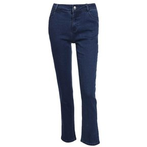 789a8bfa19 Pantalón Largo Denim para Mujer-Azul