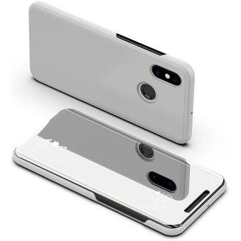 Compra Funda De Chapado Espejo Para Xiaomi Redmi Note 6 Pro-Plata ... 6255d9bab951