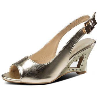 Marca Lseilly Tallas Grandes De Verano 28 52 Zapatos De Mujer A La Moda Cunas Tacones Altos De Cristal Zapatos De Mujer Sandalias De Fiesta E912 Dorado Linio Peru Un055fa105qcrlpe