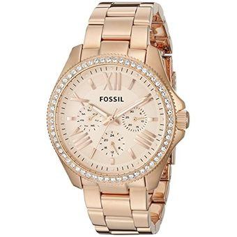 c8cc0228d932 Compra Reloj Fossil Cecile Am4483-Dorado Con Rosado online