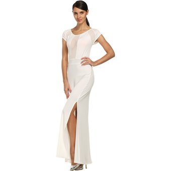 Vestido blanco largo chile