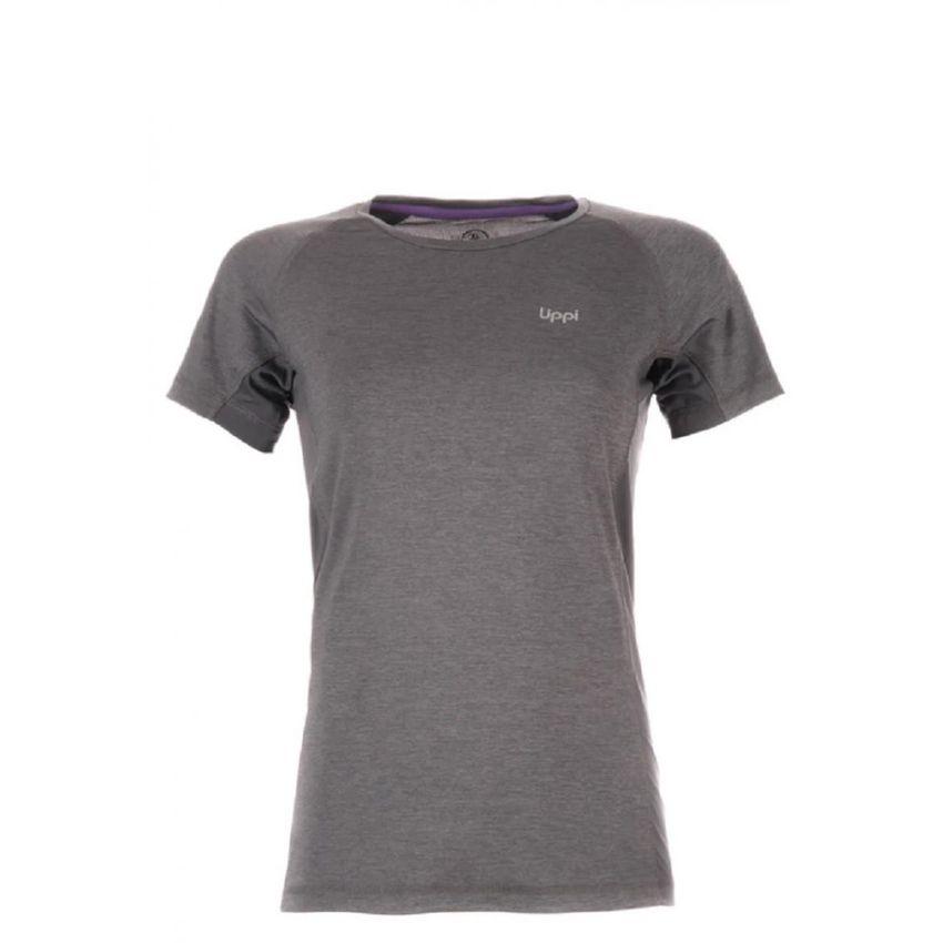 Polera Fury UVStop T-Shirt Melange Grafito Lippi