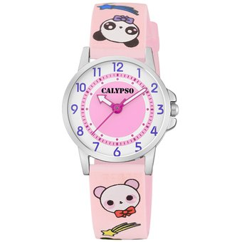 Reloj K5775/4 Rosa Calypso Niño Junior Collection Calypso