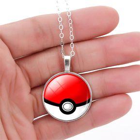 fc642ca3a45f Collar Bola De Pokémon Pikachu