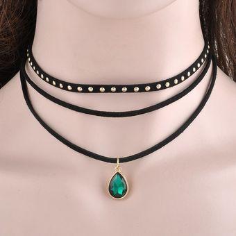 742e3e234fa0 Agotado Collar Gargantilla Nueva Moda Cinta Collar Joyeria Fina Tendencia