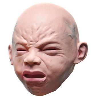 Compra Mascara De Fiesta De Halloween Creeping Scary Terror Cry - Mascaras-de-halloween-de-terror