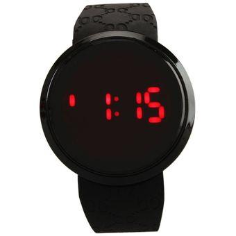 fotos oficiales d5f94 0cf39 Reloj Para Los Hombres Impermeable LED Touch Screen Día Fecha -Negro