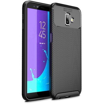 3e1ae724065 Compra Funda De Silicona TPU Para Samsung Galaxy J6 Plus 2018-Negro ...