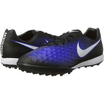 Compra Guayos Fútbol Hombre Nike MagistaX Onda II TF -Negro Con Azul ... 74805e4f003d9