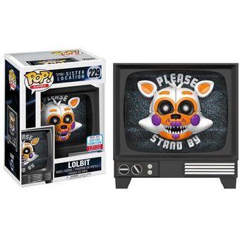 Five Freddy's Funko Lolbit Nycc Pop At Nights Sticker Limited Fnaf 2017 Comic Con T3uJclFK1