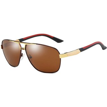 e71235c463 Hombres Moda Uv400 Gafas De Sol Polarizadas (bastidor De Aluminio De  Aleacion De Magnesio De
