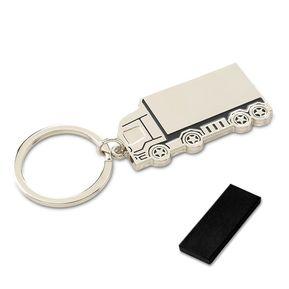 d0149ef4bf61 Llavero Metalico en Forma de Camion con caja individual - Silver