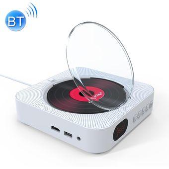 Montado en la pared Bluetooth 4.2 + EDR DVD Player con control remoto