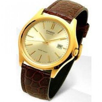 9e0e67c851d7 Compra Reloj Casio LTP-1183Q-9A Análogo Pulso Cuero Café Para Mujer ...