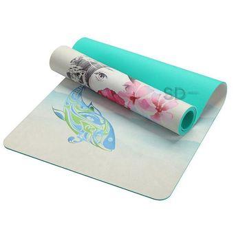 Compra Mat de yoga tpe + Gamuza afelpada 5.5 mm - Diseño 302 online ... ad0ba49913e1