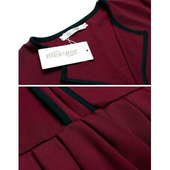 5b2b8ad5a27a Blusa Manga Larga Modaling Para Mujer - Rojo De Vino