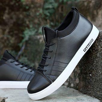 descuento encontrar mano de obra calzado Nuevos zapatos de hombre zapatos casuales zapatos de moda coreanos zapatos  zapatos deportivos-Negro