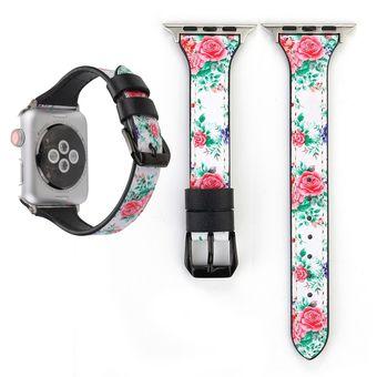 d61b038b9191 Pulsera de cuero en forma de T para Apple Watch Series 3 y 2 y 1 38 mm