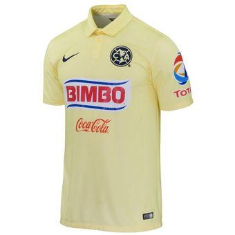 ae060c687b1e4 Compra Jersey Nike De Las Aguilas Del America-Amarillo online ...