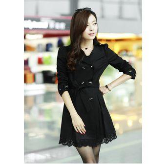 Estilo De Hermoso Coreano Con Abrigo Encaje Mujer Chaqueta Compra wqB1WOxaRn