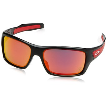 383fb7b874133 Agotado Lentes Oakley Turbine Ferrari Polished Black - Ruby Iridium  OO9263-39