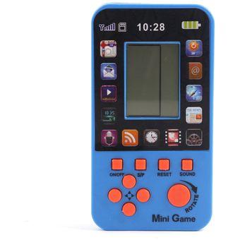 Compra Consola De Juegos Tetris Juegos Integrados De 23 Azul Online