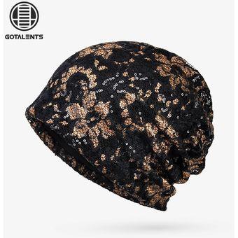Compra Sombreros Para Unisex- Gorro De Encaje Material-Negro online ... 8277e77686f