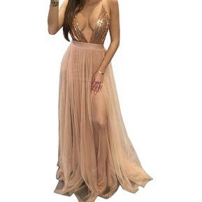 Vestido para coctel de noche mujer