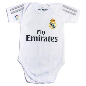 fd62197ae Ropa Para Bebe Body Bodie Futbol Real Madrid Baby Monster