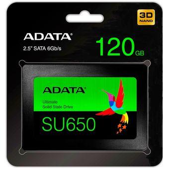 Disco Duro Solido Ssd 120gb Adata Nand 3d Original