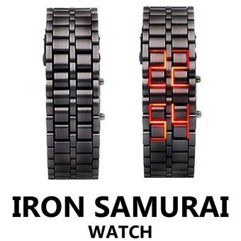 b4dccc6956ba Compra Reloj Led Hombre Digital Lava Samurai - Negro Luz Roja online ...