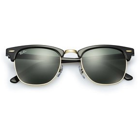 0cee3543fc ... closeout lentes de sol ray ban clubmaster rb3016 w0365 classic negro  g15 9e885 6d58a
