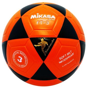 Compra Balon de Futbol Mikasa FT-3BKO  3 - Naranja Negro online ... 6d0b7f1926ddc