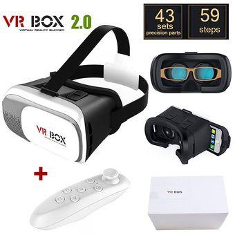 Compra Gafas Realidad Virtual 3d Vr Box Control Bluetooth Juegos