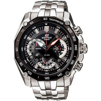 b2fab68ae1bd Agotado Reloj Casio Edifice EF-550D-1AV Analógico Hombre - Plateado Y Negro