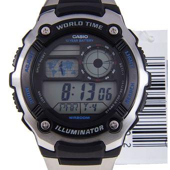 f3eab9630e0c Compra Reloj Casio AE-2100WD-1A Para Caballero -Plateado online ...