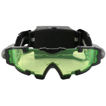f7e9102cba ER LED Regulable Gafas De Visión Nocturna Con Luces Flip-Out Lente Ocular  Gafas