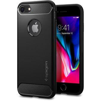 e555410a6d2 Compra Carcasa Iphone 8 plus Rugged Armor Spigen Negra online ...