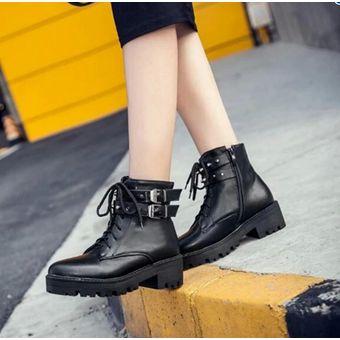 e4dc32d7ea Agotado Nueva Llegada De Tacones Altos De La Plataforma De Las Mujeres  Botas Botines Zapatos De Moda