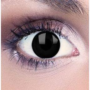 c3d6c7d759 Lentes de Contacto Zombie Pupilentes Disfraz Halloween - Negros
