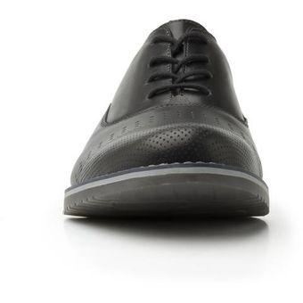 Zapatos Hombre Negro Flexi Para 92405 Casual 0vm8nNw