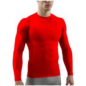 Camiseta Lycra Buso Deportiva Rojo + 100% Protección UV Actividades  Deportivas + Fácil Transpiración 5a32b48526d75