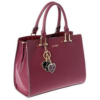 86ce895e8 Compra Bolsa Jennyfer para Dama Tote o Trapezoide 8657-2 Purpura ...