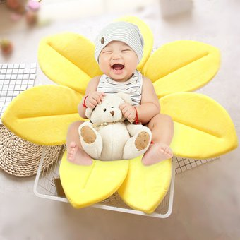 c4f1e5515 Plegable Bañera Blooming Fregadero Lotus Flower Bath Mat Pad Para Bebe  Recien Nacido, Tamaño:
