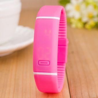 8b0fbf5b9b5b Compra Sección Impermeable LED Pulsera Niños Mujeres Reloj Hombres ...