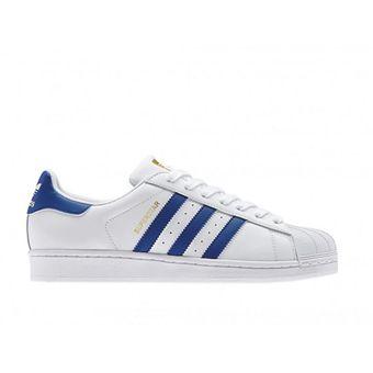Compra Tenis Adidas Superstar Hombre Fondation B27141 Blancos Para Hombre Superstar 0a092e