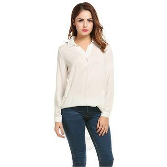 275a5d2f9c2b7 Compra Blusa Larga Para Mujer-Blanco online