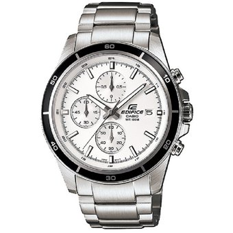 Cronografo 7a Efr Edifice Plateado Reloj 526d Casio Ye2IWE9DH