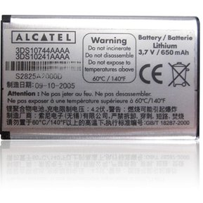 d027686b3a4 Batería Alcatel OT-C650 C651 C652 3DS10744AAAA Clase A Original - Negro